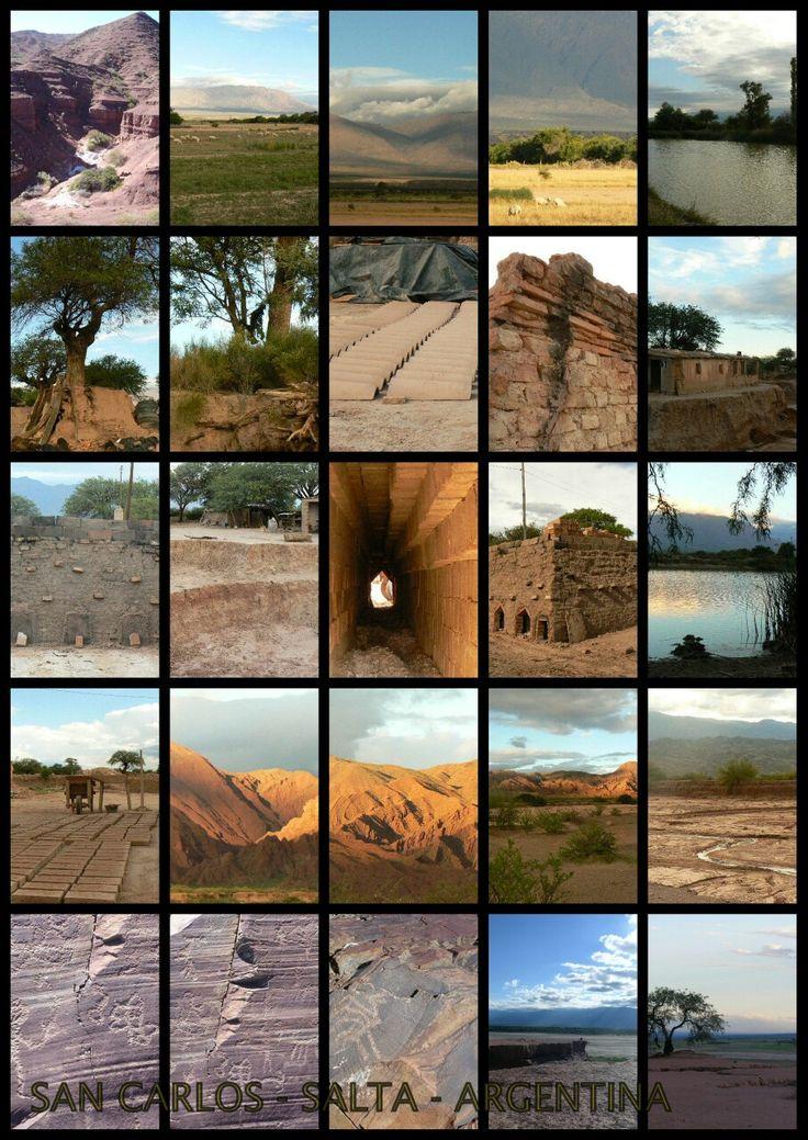 Cortada de ladrillos,baldosas y adobes en San Carlos ,Salta, Argentina,Fotos Alejandra Rodríguez