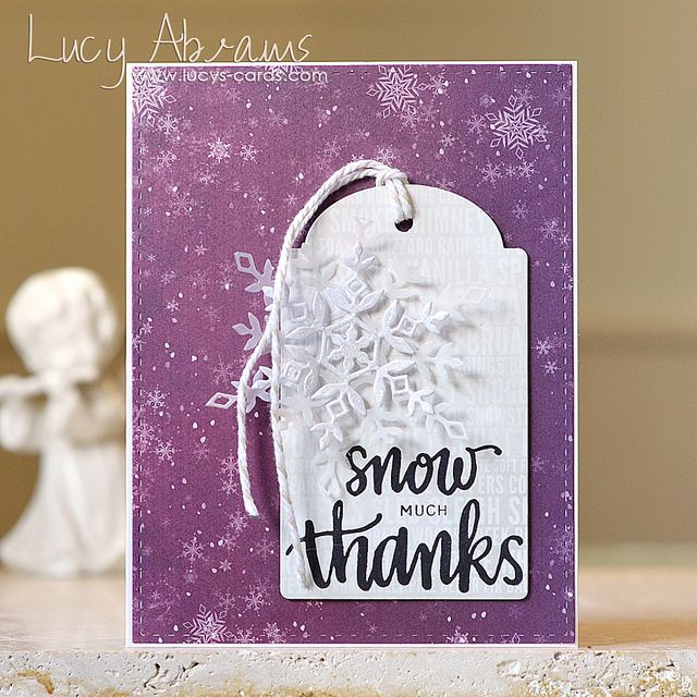 Hello.Today the January card kit from Simon Says Stamp is revealed. And yet again, its fabulous....