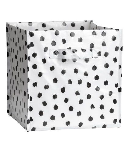 Storage Box | White/dotted | Home | H&M US