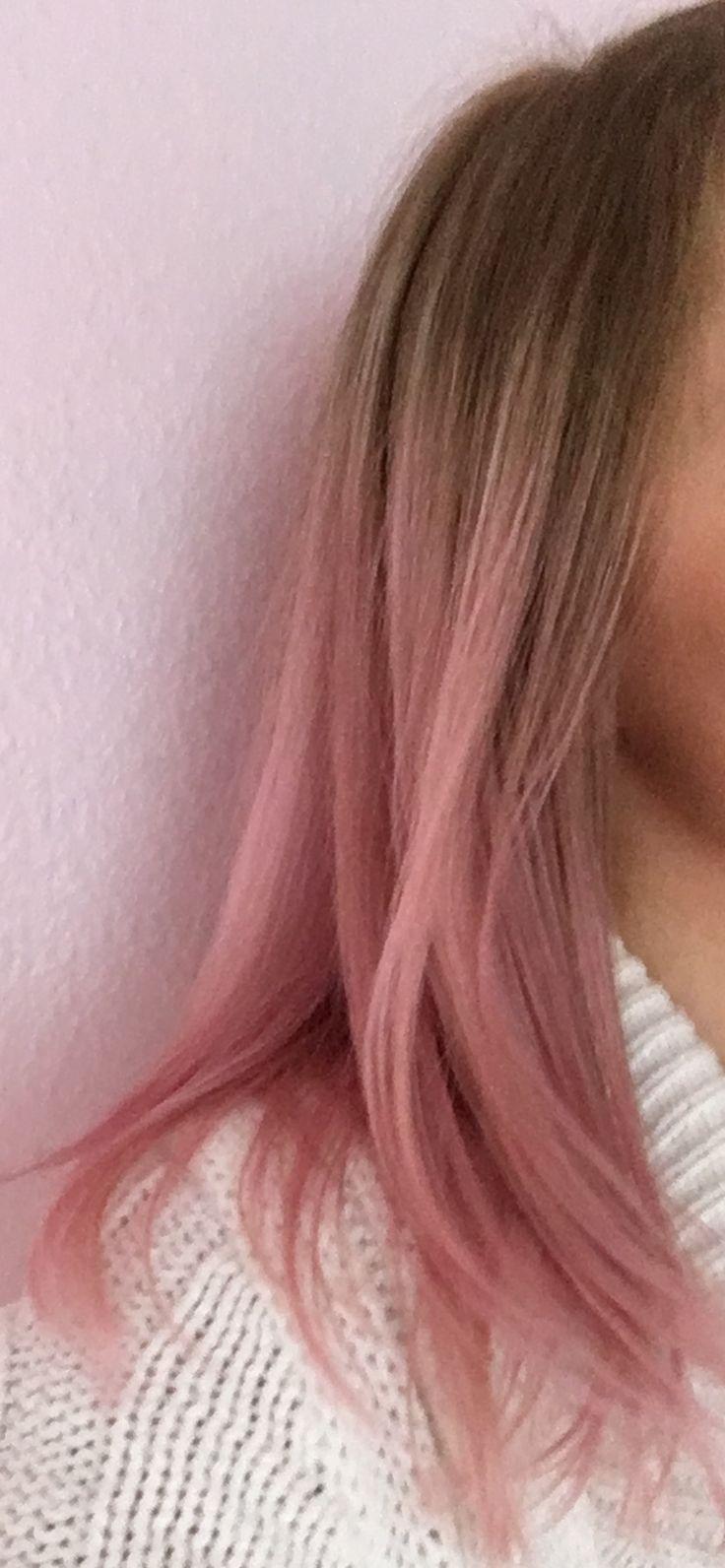 Colorista Dirty Pink Hair