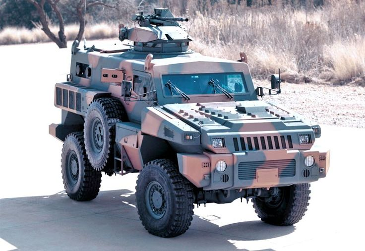 Picture of the Paramount Marauder The Paramount Marauder is a multirole platform with proven mine-resistant qualities based on South Africa combat experience.