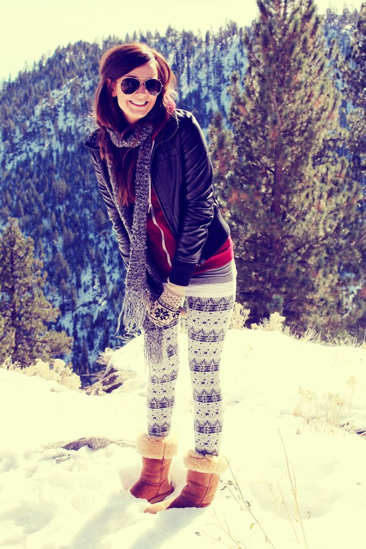 Images For > Cute Winter Outfits With Leggings Tumblr