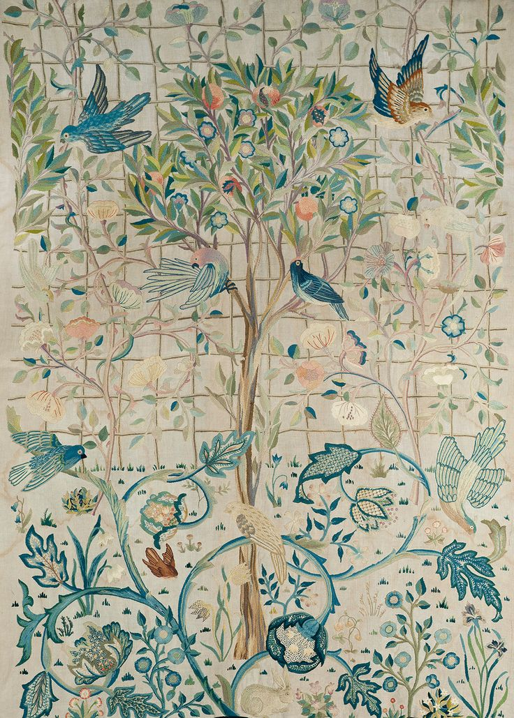 Rare May Morris curtains saved for Scotland - News - Art Fund