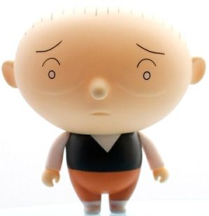Chris Ware's Jimmy Corrigan as a toy