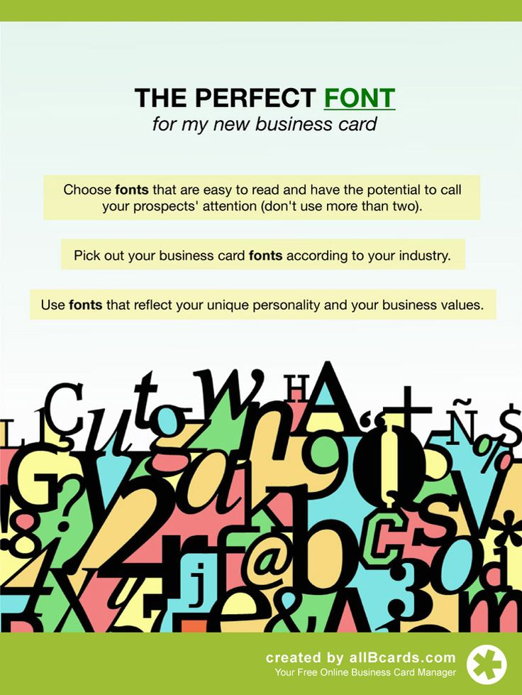 31 best business card networking tips images on pinterest choose carefully the fonts you will use on your business card check out our complete reheart Images