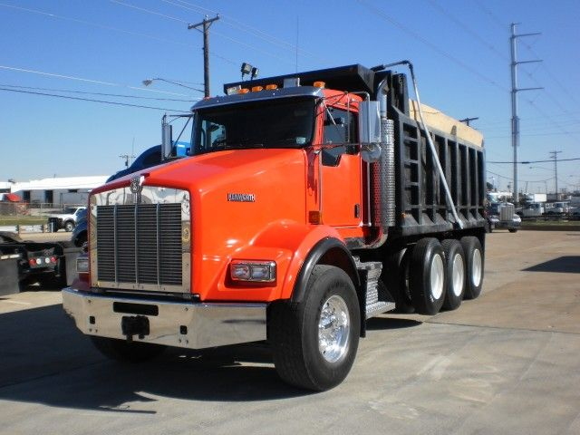 2007 KENWORTH Dump Truck T800 Tri-axle for sale
