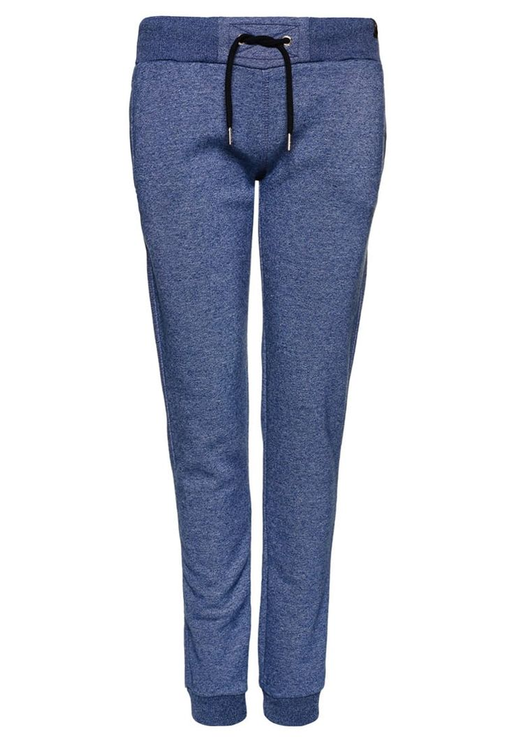 Superdry ORANGE LABEL LUXE Trainingsbroek estate blue jaspe, 69.95,  Meer info via http://kledingwinkel.nl/shop/kleding-2/superdry-orange-label-luxe-trainingsbroek-estate-blue-jaspe/