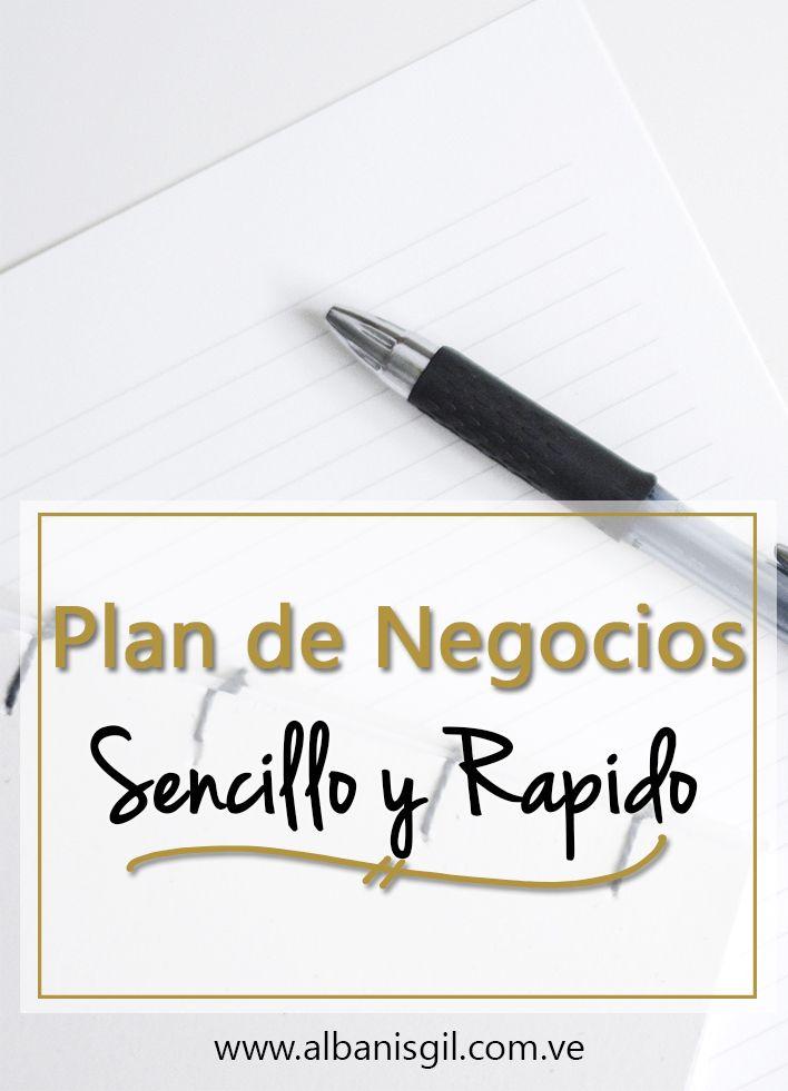 Crea un plan de negocios para tu emprendimiento online que sea aplicacble a tu blog