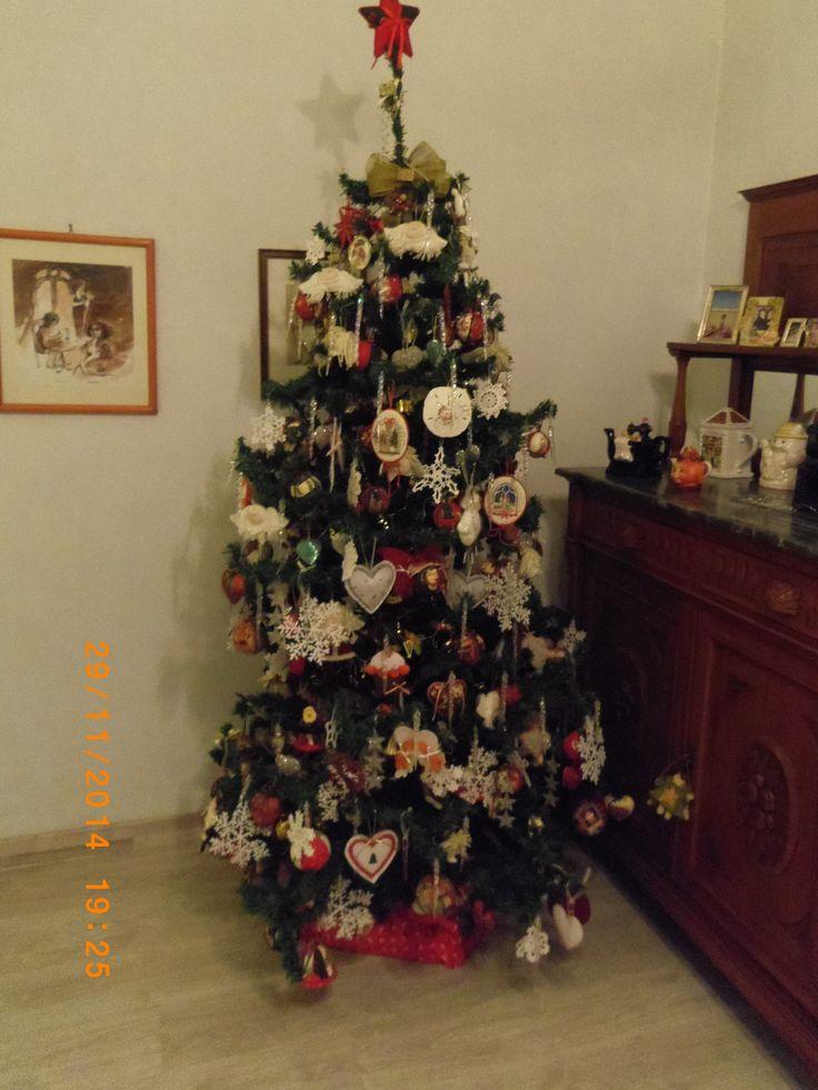 il mio albero di Natale ,)