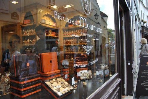 Store front Paris Montmartre - Biscuiterie de Montmartre