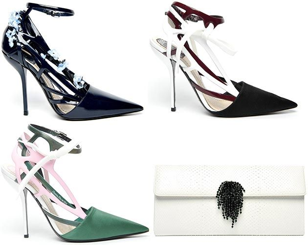 Christian Dior Shoes and Handbags Spring/Summer 2014  #shoes #bags