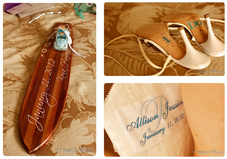 Hawaiian Wedding Gift Ideas: Koa Wood Wedding Gift