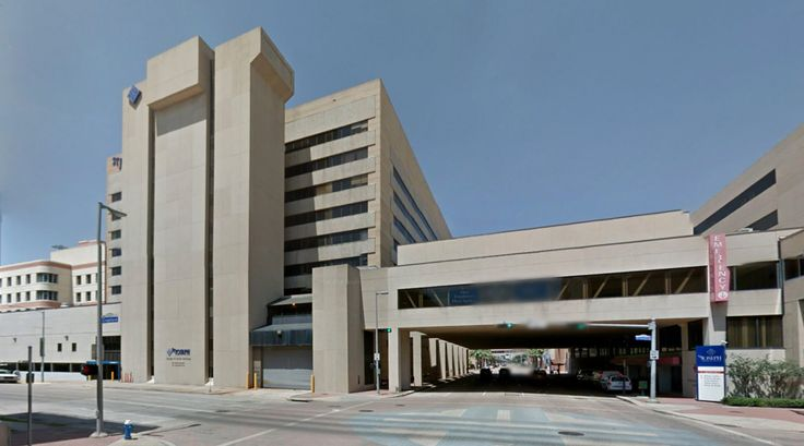 St. Joseph Medical Center - #architecture #googlestreetview #googlemaps #googlestreet #usa #houston #brutalism #modernism