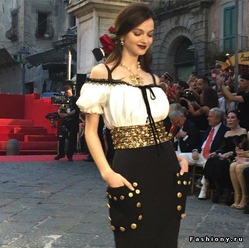Dolce & Gabbana Haute Couture Осень-Зима 2016-2017