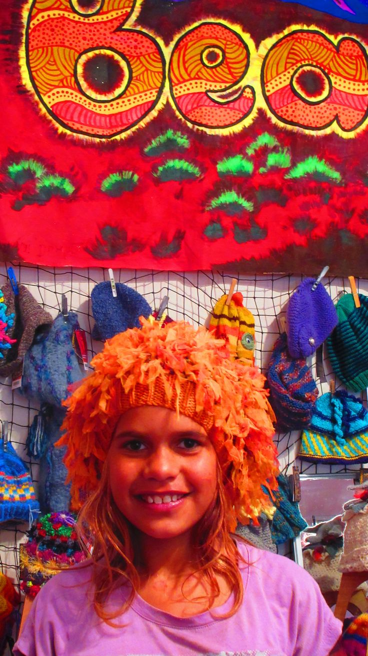 Alice Springs Beaniefest Beanie Central 2015 with nearly 7,000 beanies up fro grabs