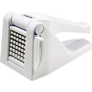 Oooooh, I want this!! Vegetable Dicer/french fry maker