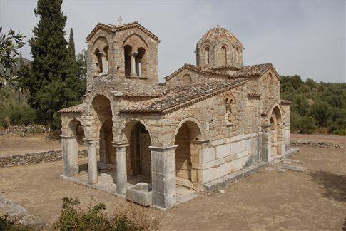 Σαμαρίνα, ένας βυζαντινός θησαυρός της Μεσσηνίας