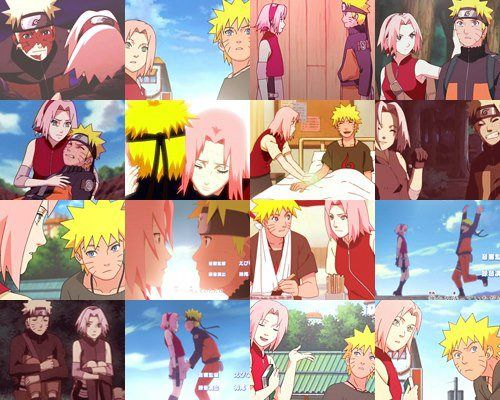 Moments | Naruto Uzumaki x Sakura Haruno | NaruSaku | Heaven & Earth | Orange / Yellow & Pink / Red | Hero & Heroine | The King & Queen | Naruto Shippuden Couple | OTP
