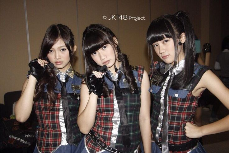 Sendy Ariani, Sonia Natalia, Cindy Gulla #JKT48 #AKB48