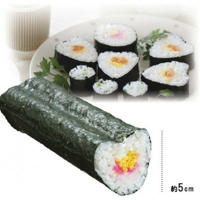 Easy Peasy Sushi Makers http://littlebentoworld.com/shop/rice-molds/sushi-maker/