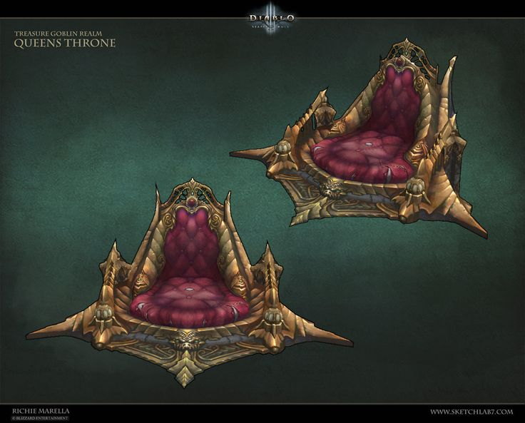 ArtStation - Queens Throne, Richie Marella