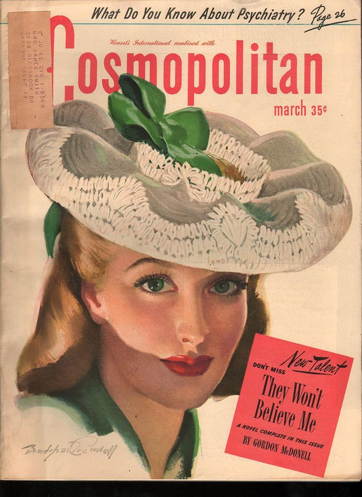 17 best images about 1945 1949 vintage cosmopolitan for Old magazines