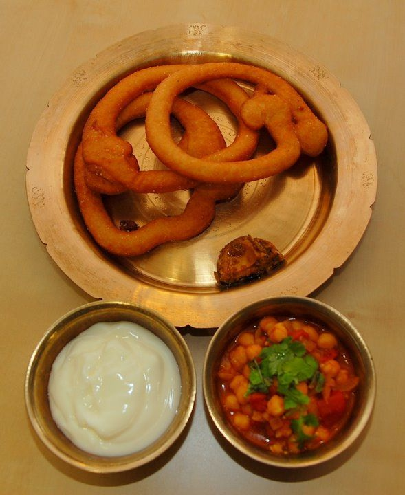 Sel roti (Nepali food), specially prepared on the occasion of Tihar.