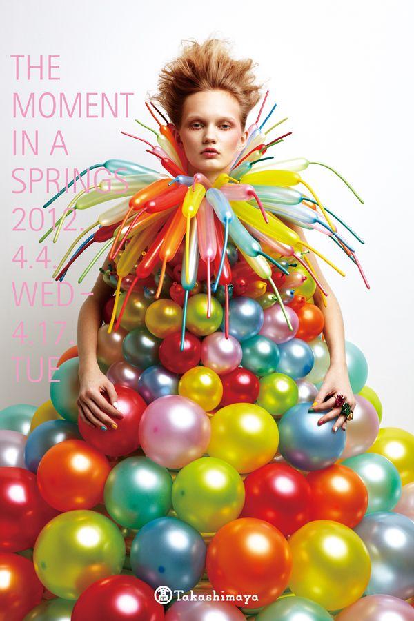 Artwork+Graphic Design : Daisy Balloon Photography: Hiroshi Manaka / Photo Retouch : Yoshiaki Sakurai Make-up : Ken Nakano / Hair : Koji Ichikawa / Stylist : Koji Oyamada Movie : Edit : Hiroshi Ouchi / Sound : Leo Sato