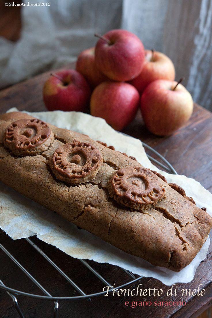 Tronchetto di mele e grano saraceno #vegan #glutenfree
