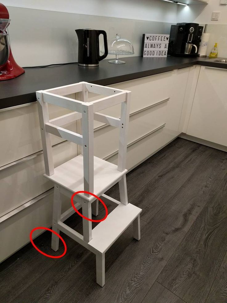 DIY Learning Tower – Ikea Hack | Lernturm ikea, Lernturm ...