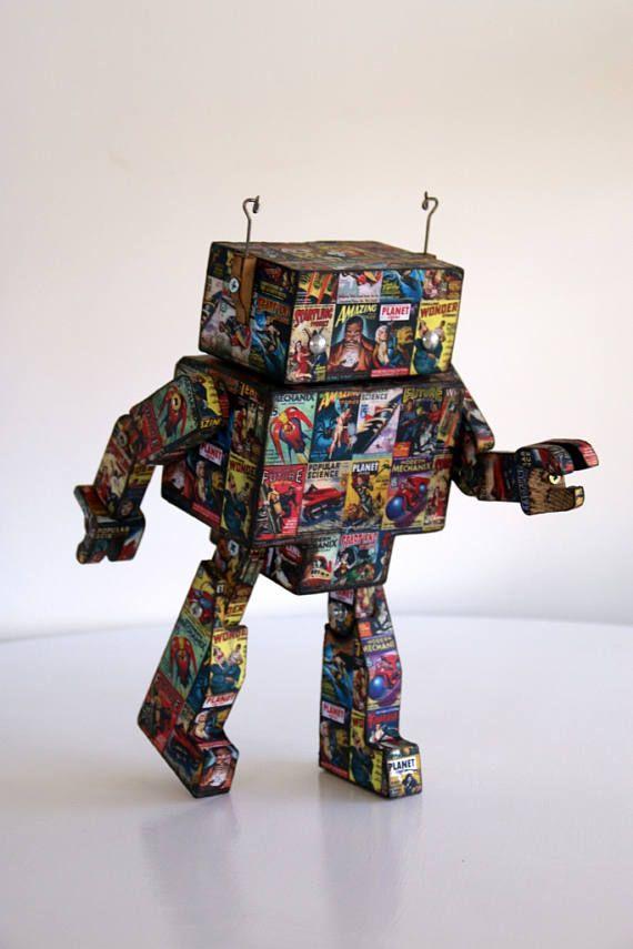 Vintage Sci Fi Robot