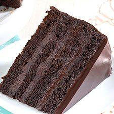 Favorite Fudge Birthday Cake: King Arthur Flour