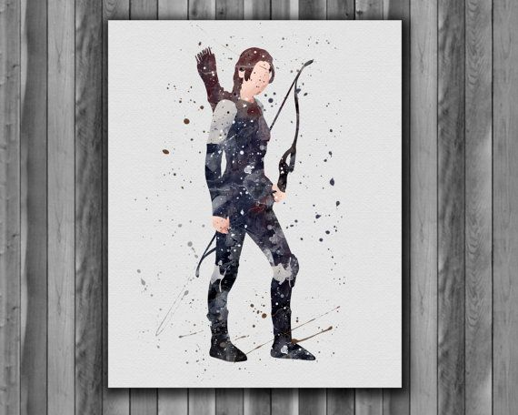 Katniss Everdeen  Hunger Games Instant by digitalaquamarine