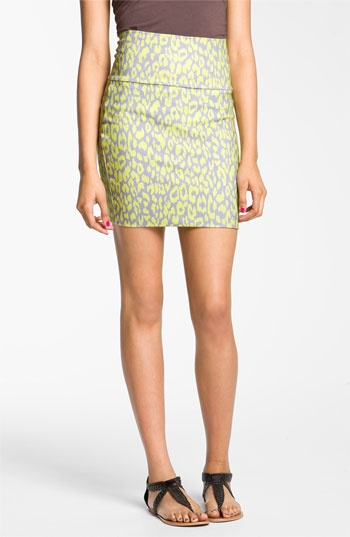 Lily White Banded Skirt (Juniors) | Nordstrom