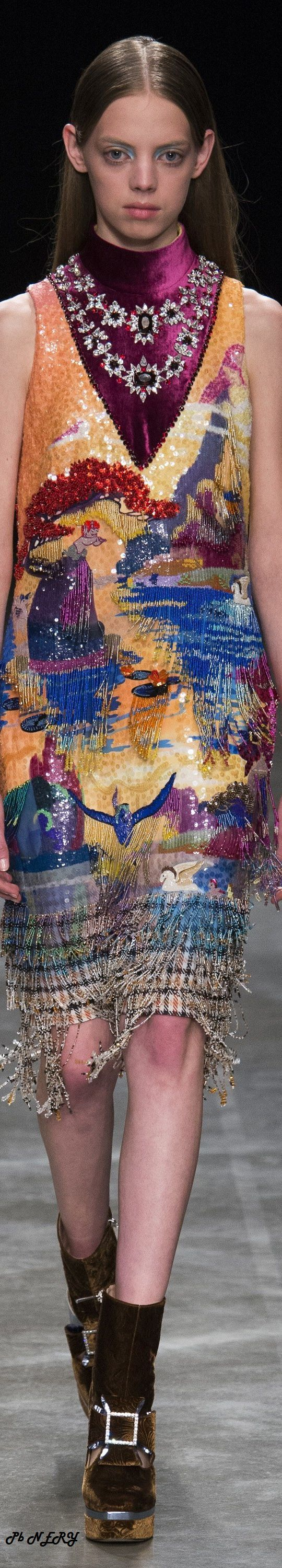 Mary Katrantzou Fall 2017 RTW