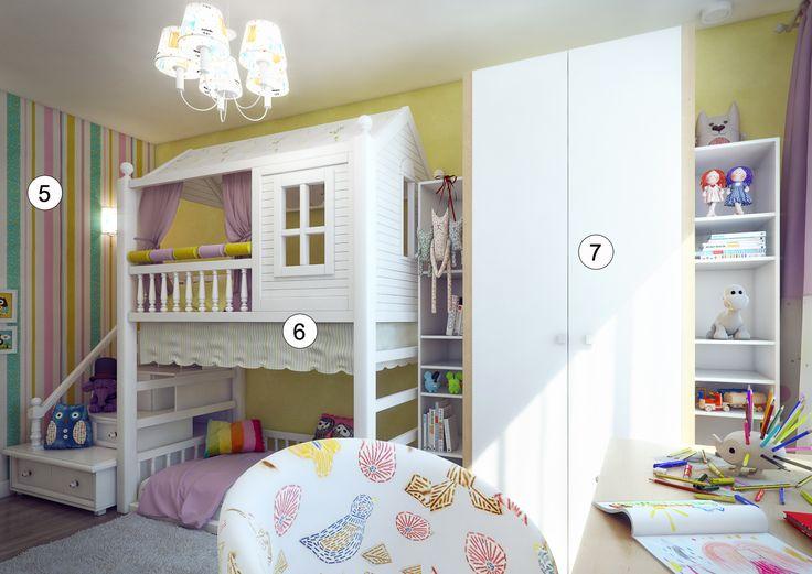 Детская для двоих: 10 дизайнерских ремарок