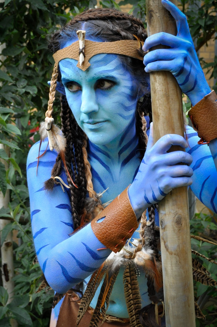 Athena massey red alert pictures to pin on pinterest - Avatar Body Paints By Emma Fay Www Emma Fay Co Uk
