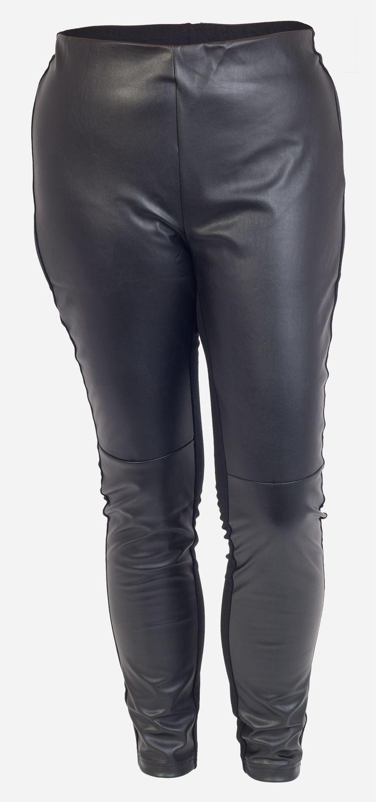 """De sejeste Skønne sorte """"skind"""" leggings Studio Modetøj til Damer i luksus kvalitet"""