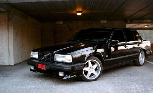 Volvo 740 | Wheels | Black