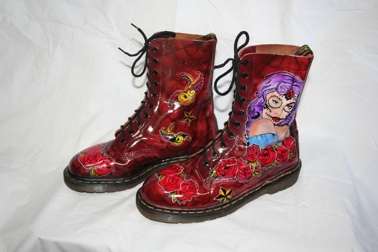 Day of the Dead Doc Martens