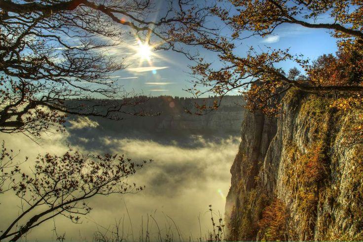 Kastamonu dağlarında gün batımı manzarası