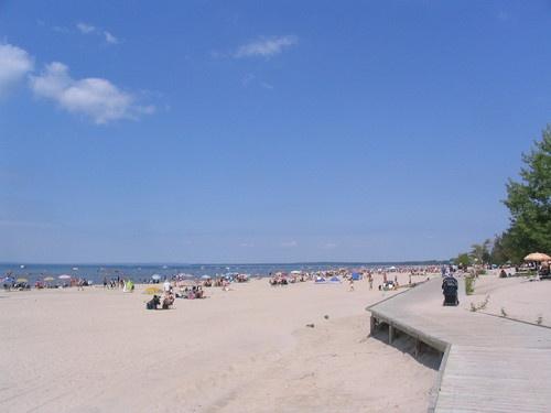 World's Longest Freshwater Beach  Wasaga Beach, Ontario