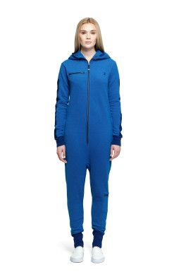 Onepiece Slow Jumpsuit Bleu Profond