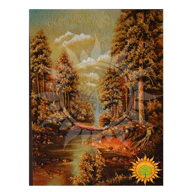 В лесу с amber