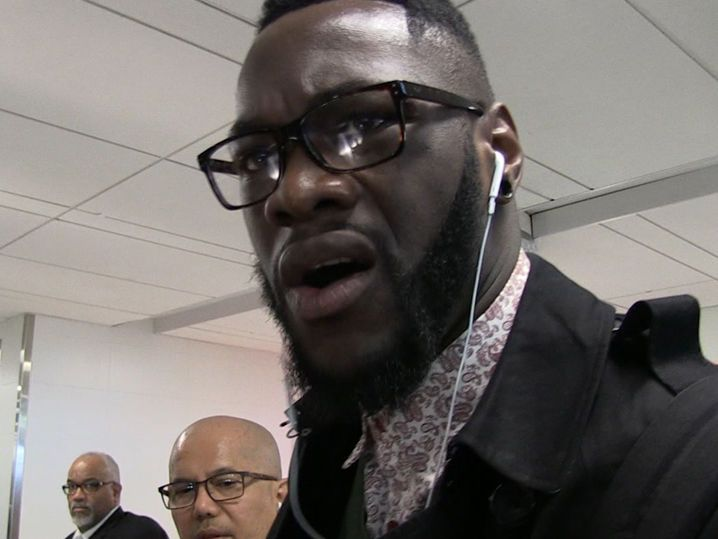 Boxing Champ Deontay Wilder -- I Wanna Fight Brock Lesnar ... And I'd Kick His Ass (VIDEO)