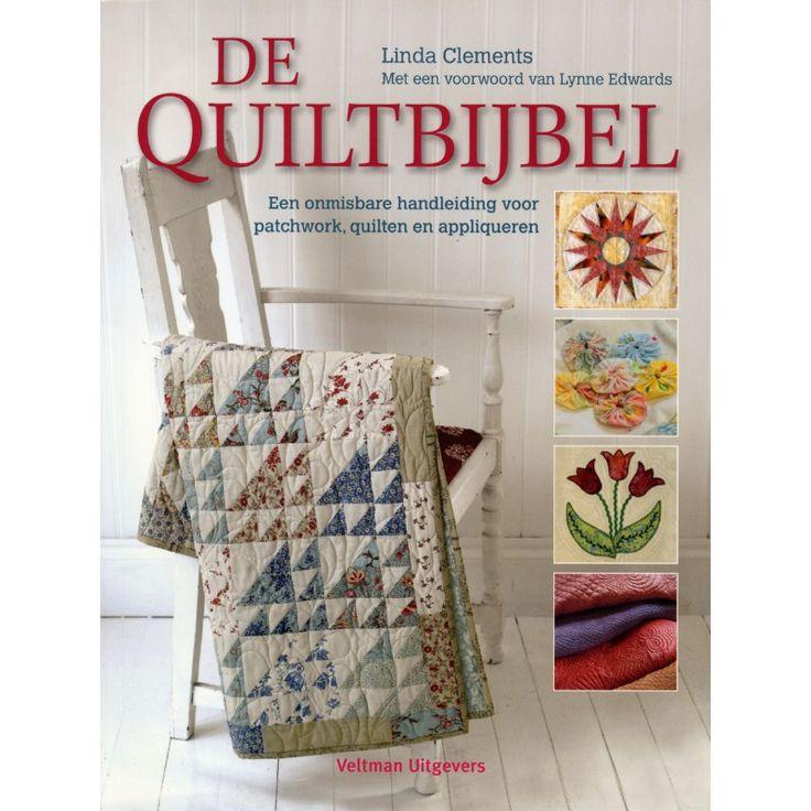 Een onmisbare handleiding voor patchwork, quilten en appliqueren. Dit boek kunt u kiezen als welkomstgeschenk bij een 2-jarig abonnement op Handwerken zonder Grenzen.