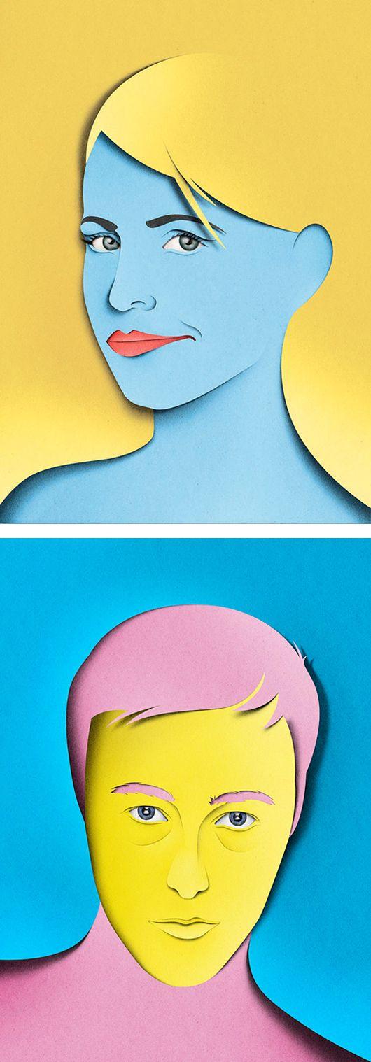 Paper Cut Illustrations by Eiko Ojala  http://bigideamastermind.com/newmarketingidea?id=moemoney24