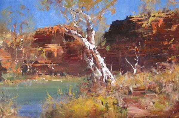 Ken Knight Australian Painter.