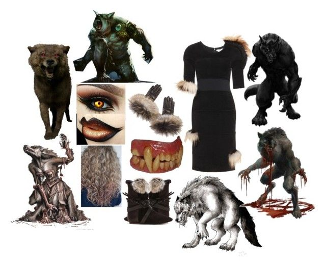 Werewolf by slytheriner on Polyvore featuring Fendi, Isabel Marant and Overland Sheepskin Co.