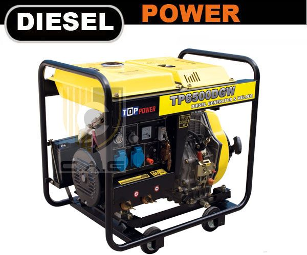 210A Diesel Welder Generator